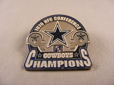WILLABEE & WARD DALLAS COWBOYS NFL FOOTBALL NFC CONFERENCE CHAMPIONS 1970 PIN