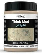 Details about  /Vallejo Texture VAL26809 INDUSTRIAL THICK MUD 200ML