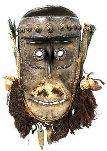 Arte Africano Arti Primo - Antico Maschera Di Portabambino Dan Bassa - Liberia