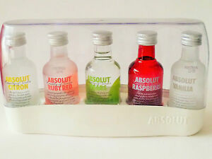 Image is loading Limited-Edition-Brand-New-Absolut-Vodka-Collection- Miniature-