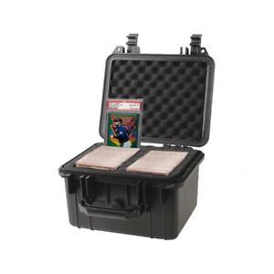 Graded Card Storage Box Deep Travel Size Waterproof Case Slab Holder & Protector