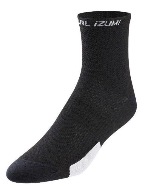 Pearl Izumi Elite Bike Cycling Socks Pl Core White Large 41-44 US 8-10
