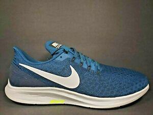 No complicado Humano Imbécil  Nike Zoom Air Pegasus 35 Mens Size 14 Shoes White Grey Blue Force 942851 403  | eBay