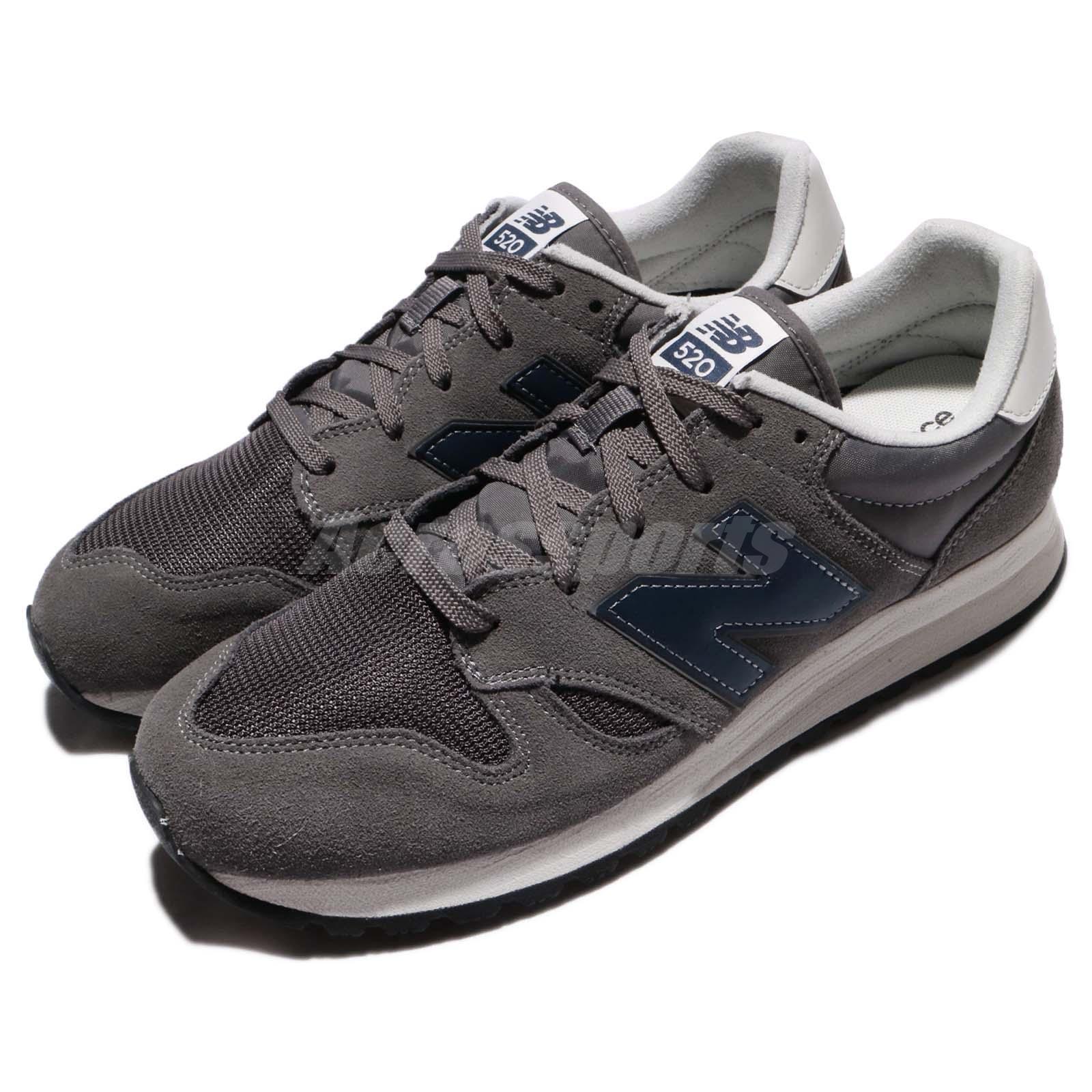New Balance U520CL D 520 Dark Grigio Uomo Uomo Uomo Running Shoes Scarpe da Ginnastica Trainers U520CLD 6bf675