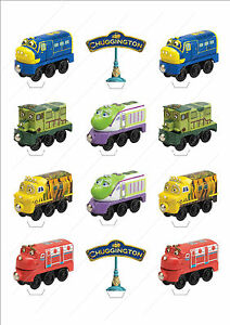 Novelty Chuggington Trains Stand Up Fairy Cake Cupcake Toppers