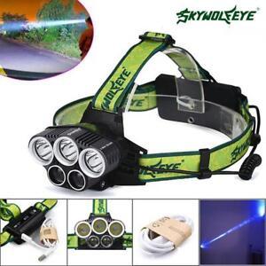 SKYWOLFEYE-X-XML-T6-5X-LED-Headlamp-80000-LM-Lamp-18650-Hunting-Nightlight-GA