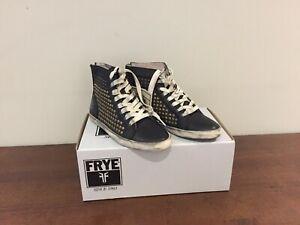scarpe Kira con da pelle Frye uk4 nera in donna 37 taglia New borchie Nuove xawqndYIaz