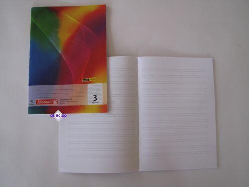 Schulhefte alle Lineaturen Markenqualität A4 alle Größen Schulheft DIN A6 A5