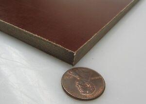"Garolite Micarta Linen Phenolic LE Grade Sheet  .125/"" 1//8/"" Thick  x 12/"" x 12/"""