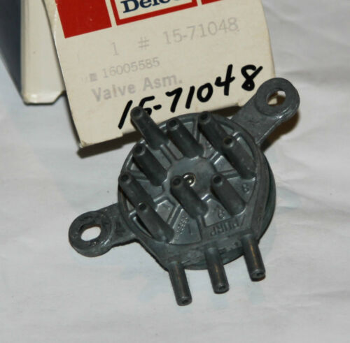 GM DELCO HEATER VALVE ASSEMBLY 15-71048 16005885 NOS OEM