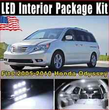 17x SMD White LED Lights Interior Package Deal 2005-2010 For Honda Odyssey