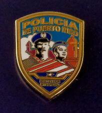 POLICIA DE PUERTO RICO police patch Lapel Pin PROTECCION INTEGRIDAD