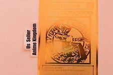 USA Seller Cosplay Anime DARK MAGICIAN Japanese Golden Metal Card Custom made