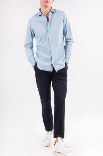 Taille Hommes Dondup Bleu Étiquette Coupe Coton Foncé 35 Pants avec Regular Nouveau 5qOOfxwX