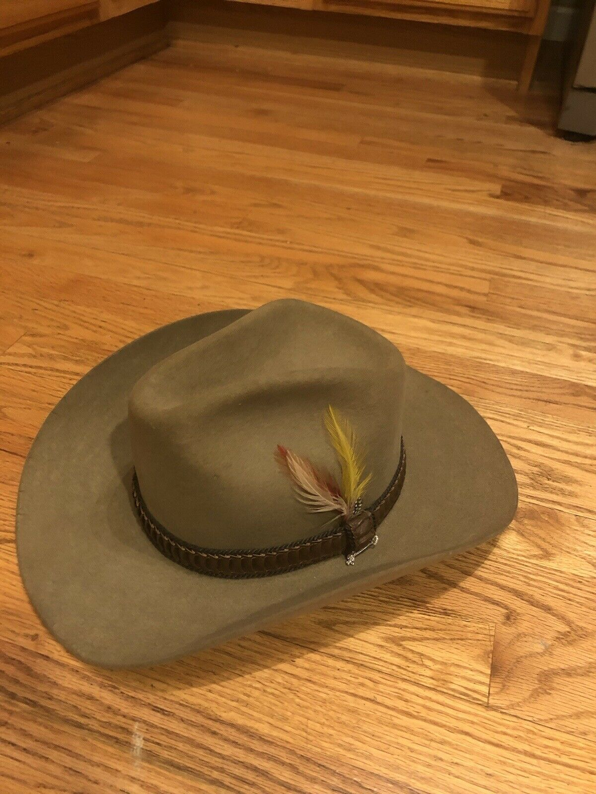 ** Vintage Stetson cowboy hat with box - 8029 Stampede **