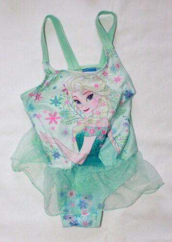 Girls Frozen Swimming Costume Elsa Anna Tutu Swim Suit Beach Wear 2-7 Years New