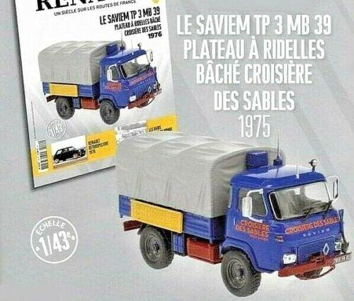 Camion  Saviem TP 3 MB 39 1975 Neuf en boite 1//43 miniature Truck