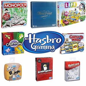 New 2018 Hasbro Board Game Range Games For Family Children Adults