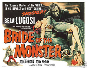BRIDE-OF-THE-MONSTER-LOBBY-CARD-POSTER-HS-1956-ED-WOOD-TOR-JOHNSON-BELA-LUGOSI