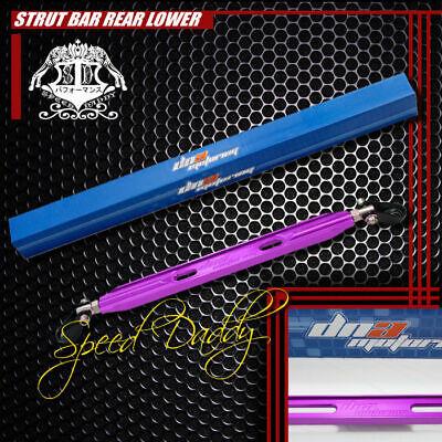 ALUMINUM REAR LOWER TIE STRUT BAR//BRACE 88-95 CIVIC//CRX EK EG 90-01 INTEGRA DC