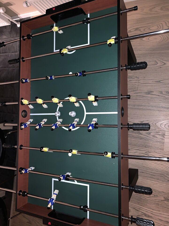 Multibord sælges, Multi bordfodbold, Billiard