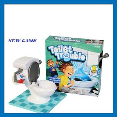 Toilet Trouble Hilarious Game With Flush Sound Effects Kids Children Toys UK