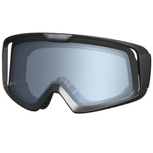 fd4c867f Image is loading Shark-Raw-Vancore-Motorcycle-Helmet-Goggle-Lense-Dark-