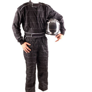 GO Kart Hobby Single Layer Race suit Black- New/Mega Sale Unbeatable Price
