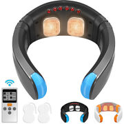 OSITO Neck Massager Tens EMS Cervical Pulse Muscle Pain Relif Deep Tissue Gift
