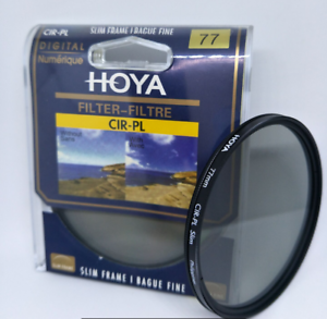 Hot-Hoya-77mm-CIR-PL-CPL-FILTER-for-Canon-Sony-Nikon-Lenses-Circular-Polarizing