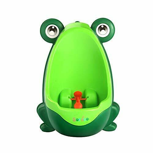 Soraco Cute Frog Boys Potty Toilet Trainning With Whirling T