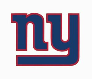 """New York Giants NFL Vinyl Decal Sticker Reflective OFFICIAL NFL 3"""" Decal"""