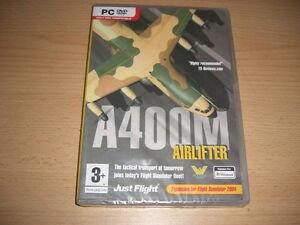 A400M-transport-PC-DVD-Air-Lifter-Add-on-Flight-Simulator-SIM-2004-FS2004-NEUF