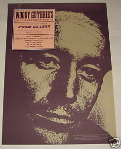 WOODY-GUTHRIE-80th-Birthday-Party-CONCERT-POSTER