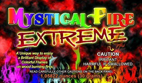 EXTREME MYSTICAL FIRE  Adds 20% More Colorful Flames to a Campfire  12 Packs