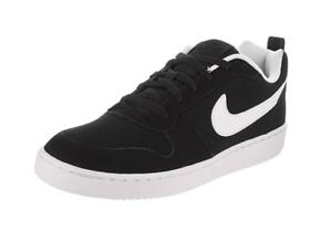sección especial Estados Unidos venta de liquidación Nike Court Borough Low Black 838937-010 Suede Shoes Men | eBay
