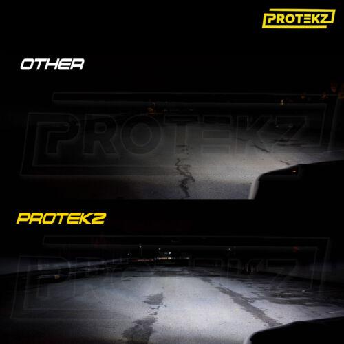 Protekz LED Headlight Kit H11 6000K 600W 120000LM Foglight for Audi A4 2002-2012