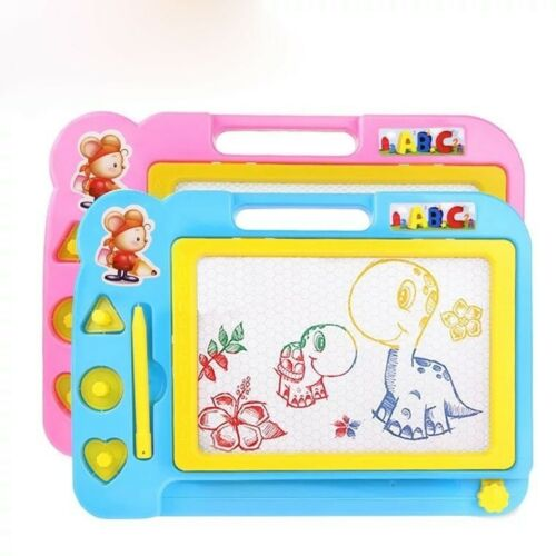 Magnetic Drawing Board Sketch Pad Doodle Toys Painting Craft Children Toys EA7X