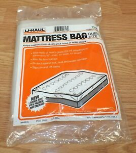 Plastic mattress cover for moving u haul