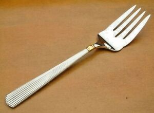 Ashmont Gold by Reed and Barton Sterling Silver Spinach Fork 7 34 Custom