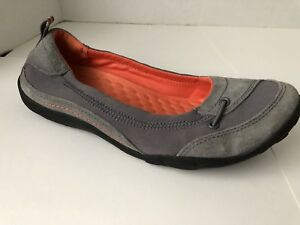 Clarks-Shoes-Womens-8-M-Gray-Flats-8M-Collection-Walking-Comfort