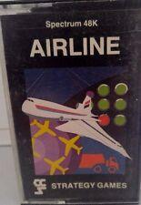 Airline Spectrum 48k (TAPE) (Game, imballaggio, Manual)