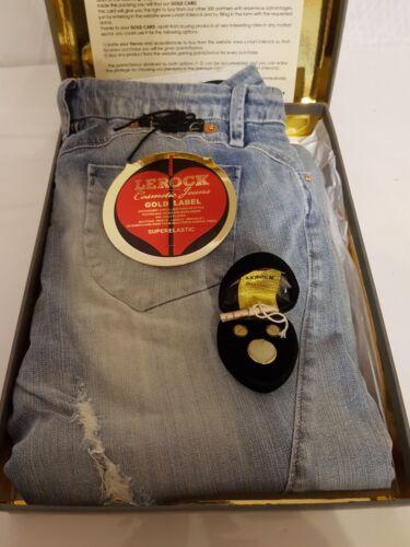 24kt Hose Plaqu Label Lerock L4 Gr Venere W29 Jeans Gold 38 Woman Damen AfqPg