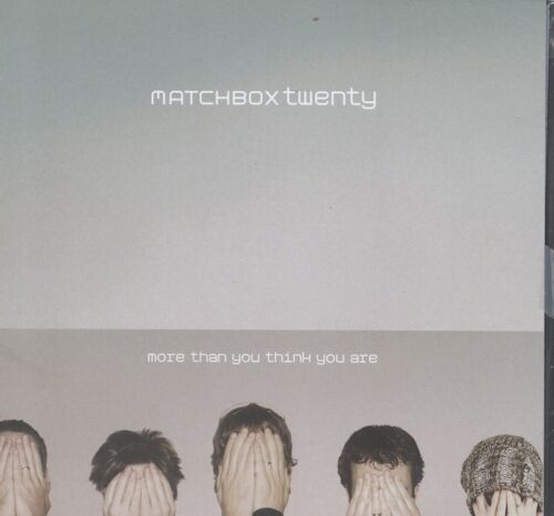 1 of 1 - Matchbox Twenty - More Than You Think You Are CD