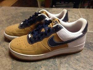 NIKE AIR FORCE 1 07 AF1 PHILADELPHIA XXV DIAMOND WHEAT WHT 315122 ... e7ed356e62