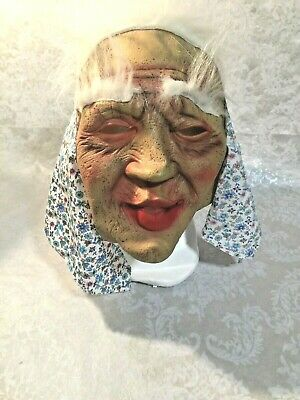 Wanda The Old Hag Witch Adult Full Mask