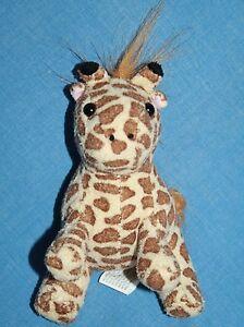 Oriental Trading Mini Giraffe 5 Small Soft Toy Plush Stuffed Brown