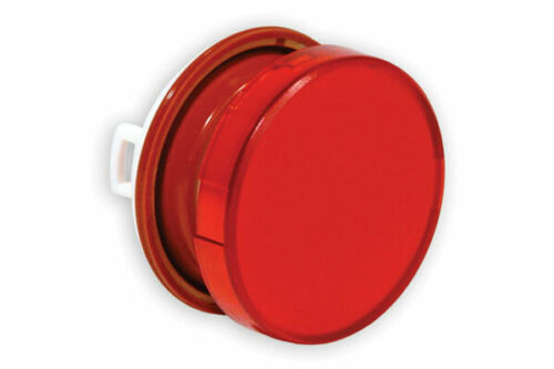Lot of 3 pcs HW1A-L1-R Idec Round Flush Lens Red