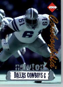 1996 Collectors Edge Cowboybilia SN 03970/10000 #Q-14 Nate Newton- Cowboys