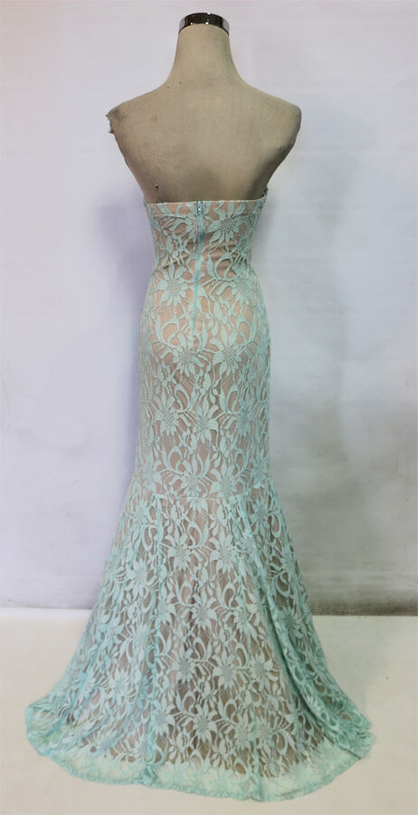 SEQUIN HEARTS Mint Party Prom Formal Gown 7 -  NWT